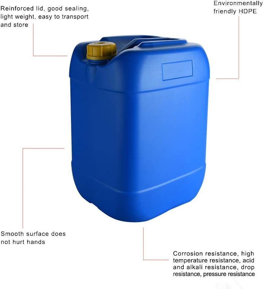 Petrol Container 25L Portable Gas Fuel Tank Red Cans Thickened Anti-static Spare Plastic Petrol Tanks Gasoline Oil Container