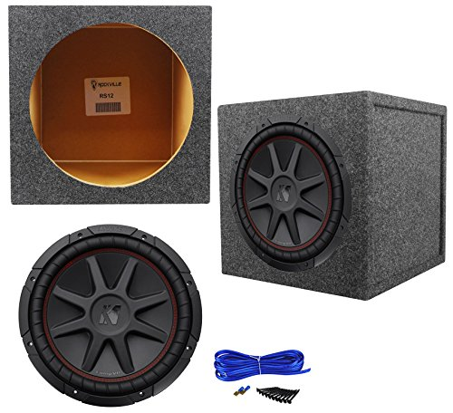 Subwoofers 12' Single Voice Coil (Package: Kicker 43CVR124 12