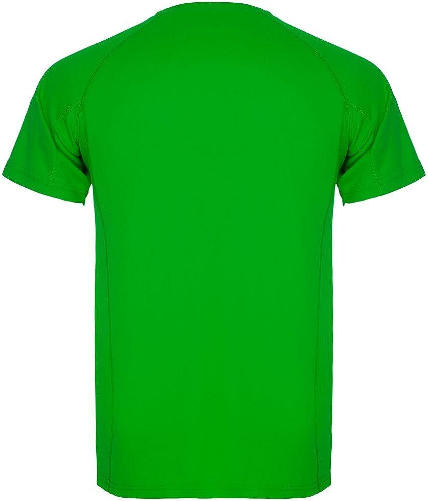 ROLY Camiseta técnica para Hombre Montecarlo, Verde: Amazon.es ...