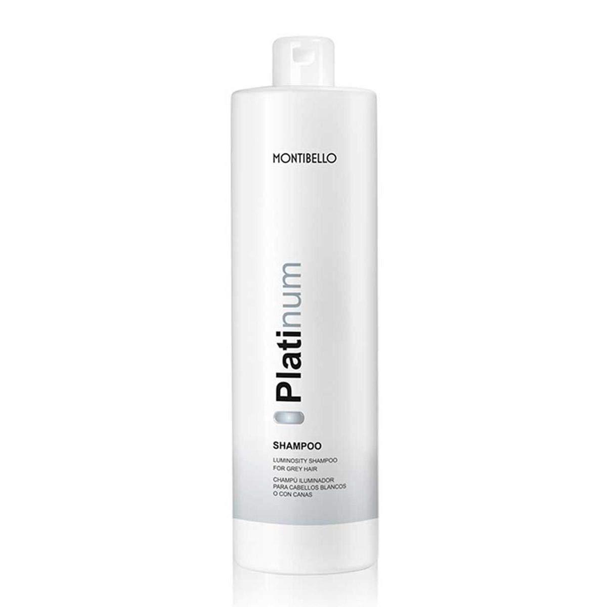 Montibel-Lo Platinum, Champú para Canas, 1000 ml