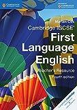 Cambridge IGCSE First Language English Teacher's Resource