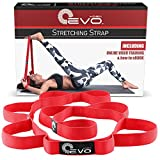 Compra Yoga EVO Stretching Strap also known as Flexibility Belt or Dance Rubber Band en Usame
