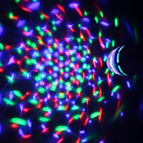 Bombilla Led E27 Disco 3x1W Multicolor Activación por Sonido ENTREGA 1-3 DÍAS: Amazon.es: Juguetes y juegos