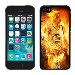 New Custom Design Cover Case For iPhone 5C Generation Golden State Warriors Stephen Curry 2 Black Phone Case
