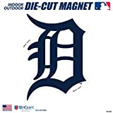 "Stockdale Detroit Tigers SD 6"" Logo MAGNET Die Cut Vinyl Auto Home Heavy Duty Baseball"