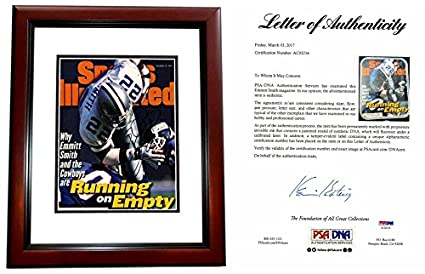 aaa69b6e Emmittt Smith Signed - Autographed Dallas Cowboys Sports Illustrated ...