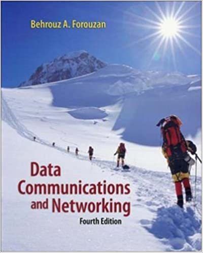 Data Communications and Networking By Behrouz A.Forouzan pdf