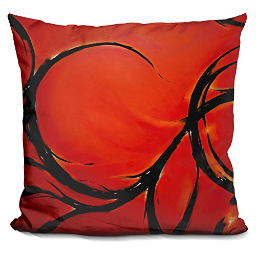 Lilipi red dream decorative accent throw pillow