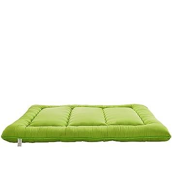YXDDG Sobrecolchón Suave Resistente Plegable Premium Colchones de futon Queen tamaño Planta, Almohadilla Cama Pliegue-Capaz, ...