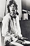 Mick Jagger 24x36 Poster seated in recording studio - Best Reviews Guide