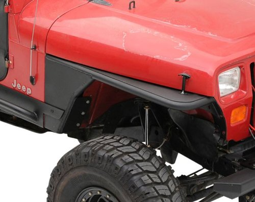 Smittybilt 76862 Jeep Wrangler XRC Tube Fenders - CJ / YJ / TJ / LJ - Without Flare Cj Tube Fenders