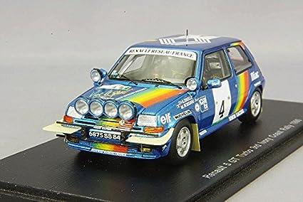 Renault R5 GT Turbo, No.4, Rallye Cote d Ivoire, 1990,