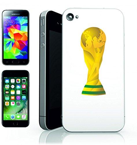 Smartphone Case della Coppa del Mondo di calcio Oro Sport Trofeo di prezzo di brazilien della sfera della Squadra della Concorrenza del gioco di destinazione per Apple Iphone 4/4S, 5/5S, 5C, 6/6S,