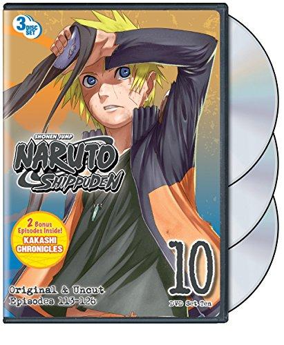 Naruto Shippuden: Set Ten (Naruto Shippuden The Movie 2)