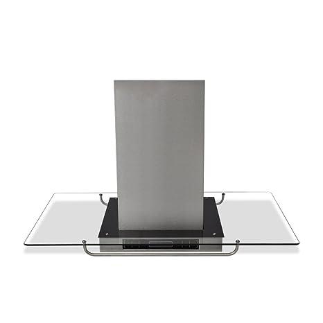 vidaXL 50167 - Cappa da cucina ad isola con display LCD, 750m³/h ...