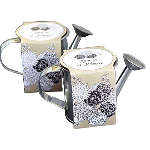 25 Watering Can Planting Kit Favors
