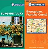 img - for Michelin Green Guide Burgundy Pack - Burgundy / Jura Guide plus Map book / textbook / text book