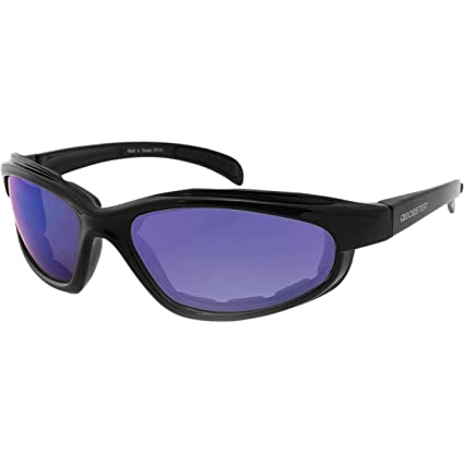457f4efc3f1a Image Unavailable. Image not available for. Color  Bobster Fatboy Sunglasses  with Black Frame and Smoked Lenses ...
