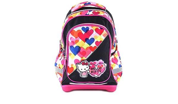 Target Hello Kitty Backpack Mochila Escolar, 45 cm, Rosa (Pink/Blue): Amazon.es: Equipaje