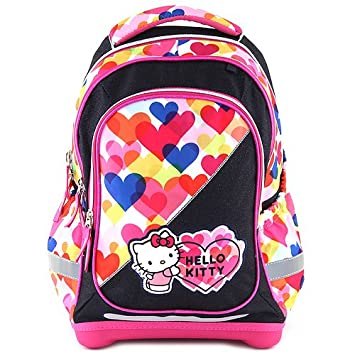 Target Hello Kitty Backpack Mochila Escolar, 45 cm, Rosa (Pink/Blue): Amazon.es: Equipaje