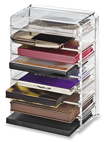 byalegory acrylic palette organizer with 8 individual removable spaces clear it s all about. Black Bedroom Furniture Sets. Home Design Ideas