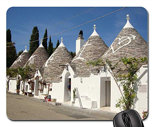 (Mouse Pad - Italy Alberobello Houses Homes Buildings)