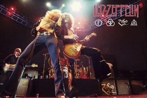 Led Zeppelin  Music Poster Print
