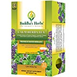 Buddha's Herbs Calming Tea with Passion Flowers and Lavender - 100% Natural (Pack of Two (44 Tea bags))