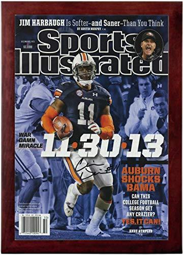 Chris Davis Sports Illustrated Autograph Replica Super Print - Kick Six - Auburn Tigers - 12/9/2013 - Framed