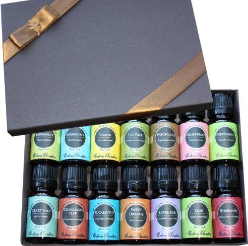 Essential Oil-débutants Best of the Best Gift Set-Aromathérapie (100% pures huiles essentielles de qualité thérapeutique) 14/10 ml
