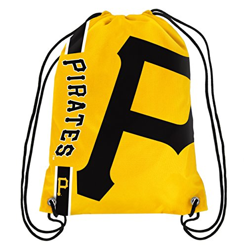 MLB Pittsburgh Pirates Unisex 2015 Drawstring Back Pack, Team Color, One Size