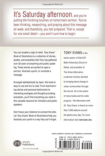 Tony Evans' Book of Illustrations: Stories, Quotes, and Anecdotes