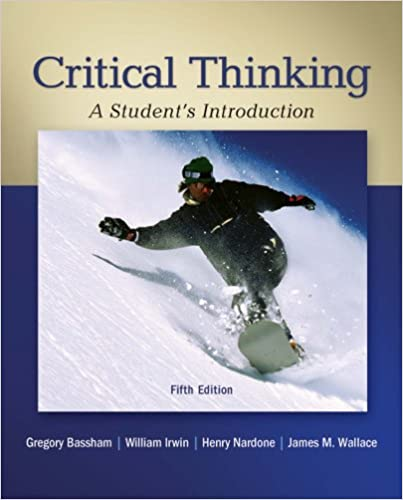 critical thinking bassham ebook