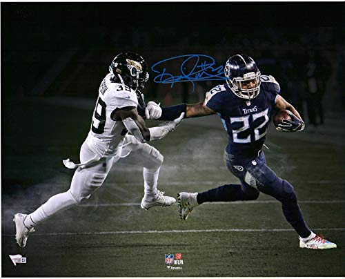 (Derrick Henry Tennessee Titans Autographed 16