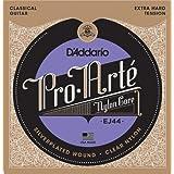D'Addario EJ44 Pro-Arte Nylon Classical Guitar Strings, Extra Hard Tension