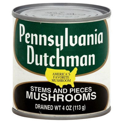 Pennsylvania Mushrooms Stems And Pieces 4 OZ (Pack of 12)