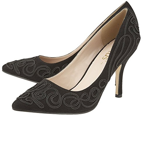 Black Womens Court Matin Dress black Shoes Lotus OqBXwf