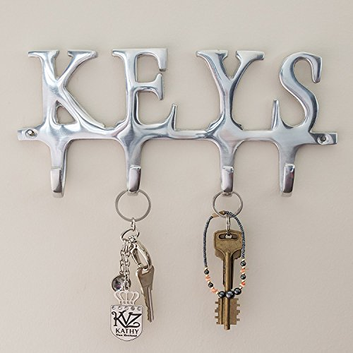 Key holder keys wall mounted key holder 4 key hooks rack home key holder keys wall mounted key holder 4 key hooks rack home decorative ppazfo
