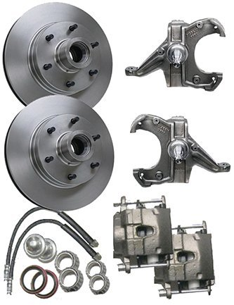 McGaughys Chevy C10 1963-70 Drop Spindles 6 Lug Disc Brake Conversion