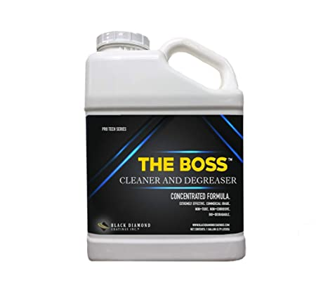The Boss limpiador y desengrasante para hormigón, mampostería ...