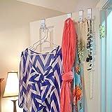 Over The Door Hook - Free Moving Adjustable Storage