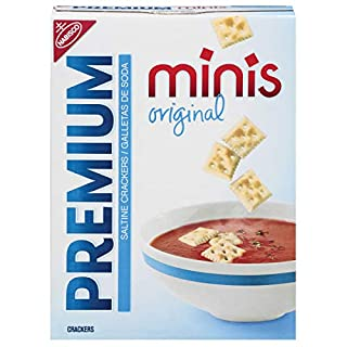 Premium Original Mini Saltine Crackers, 11 oz