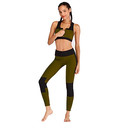 Glhkkp-sp Mono Deportivo de Yoga para Mujer Otoño Invierno ...
