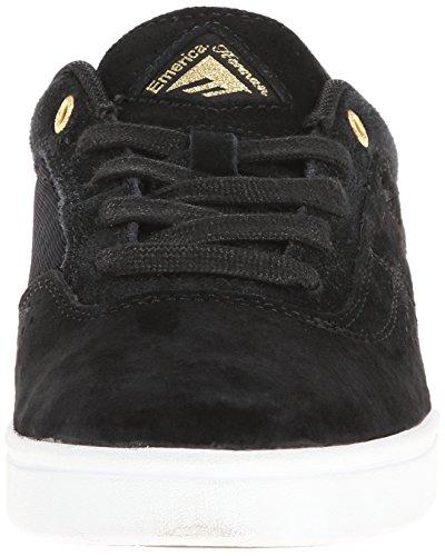 Emerica G6 6102000078 - Zapatillas de cuero para hombre Black/white/gold