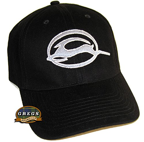 1 Hat and 1 Driving Style Decal HRP 124BL Gregs Automotive Chevrolet Impala Logo Hat Cap Black Bundle with Decal 2 Items