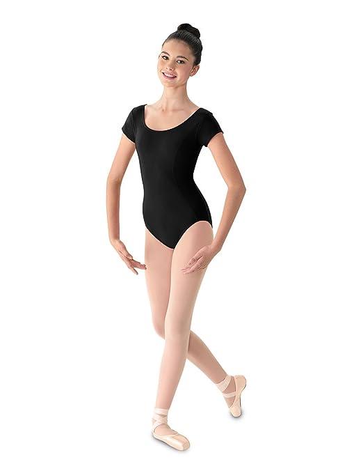 b272117da Amazon.com   Mirella Women s Princess Seam Cap Sleeve Dance Leotard ...