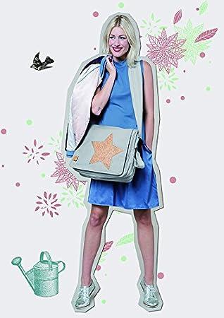L/ässig Sac /à Langer Olive//Rouge Mallette Messenger Colorpatch