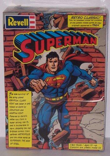 (Superman Model Kit Revell 1999 MISB)