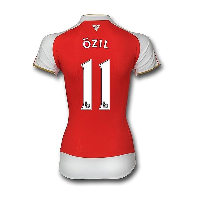 Amazon.com  Puma Ozil  11 Arsenal Home Jersey 2015 2016 - Womens (M ... 2577c1c13