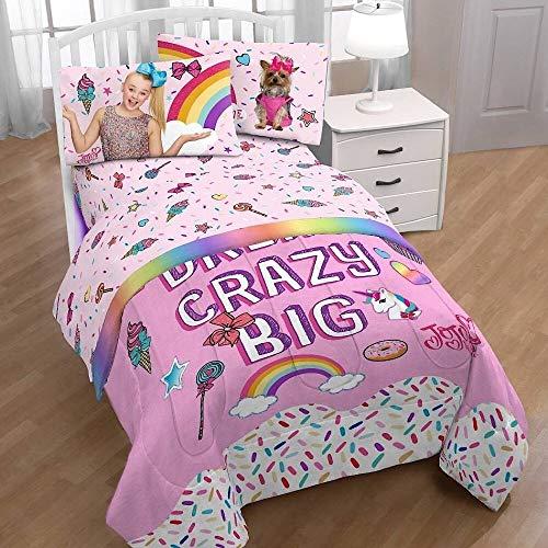 Price comparison product image Jojo Siwa Nickelodeon Girls Pink Twin Bedding Sheets